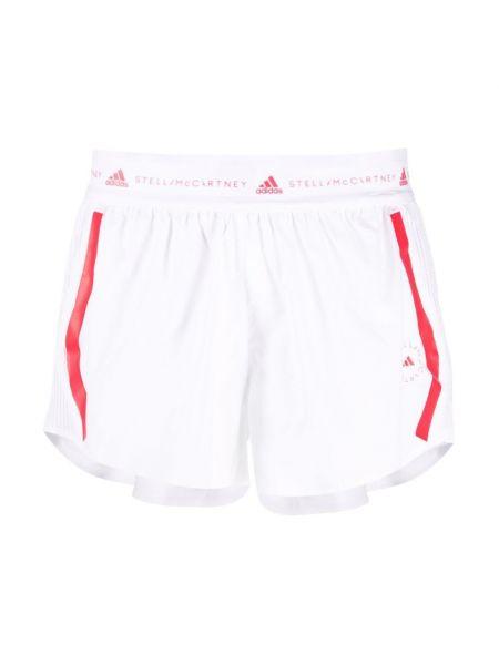 Białe szorty Adidas By Stella Mccartney