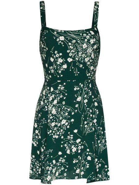 Sukienka zielona z wiskozy Reformation