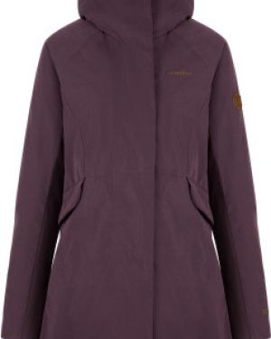 Теплая коричневая нейлоновая куртка с капюшоном на молнии Merrell