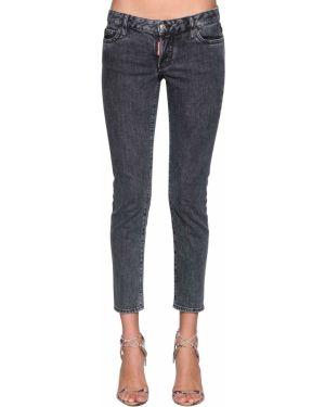 Укороченные джинсы с низкой посадкой низкий Dsquared2