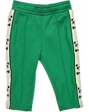 Zielone joggery Mini Rodini
