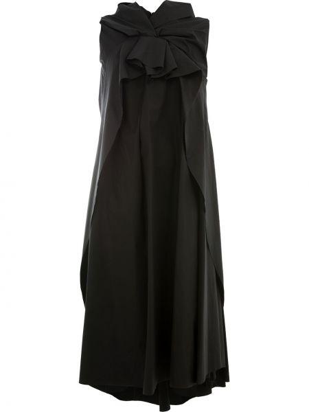 Платье оверсайз черное Aganovich