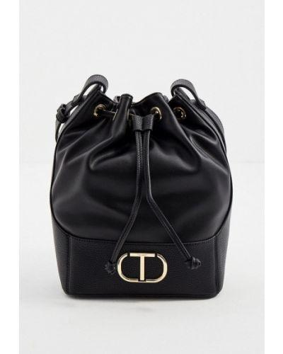 Черная сумка осенняя Twinset Milano