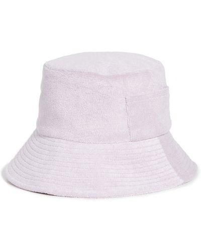 Хлопковая фиолетовая шапка с карманами Lack Of Color