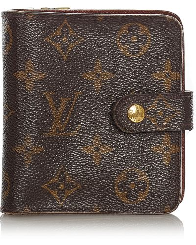 Brązowy portfel Louis Vuitton Vintage