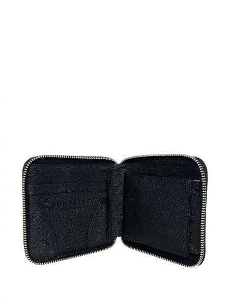 Czarny portfel skórzany Bonastre
