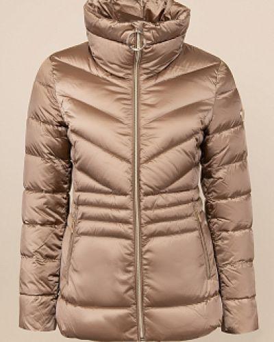 Утепленная куртка - коричневая Madzerini
