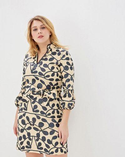 Платье - бежевое Almatrichi