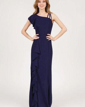 Вечернее платье весеннее синее Marichuell