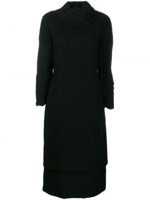Платье миди винтажная черное A.n.g.e.l.o. Vintage Cult
