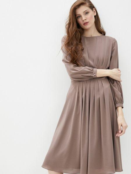 Коричневое вечернее платье Argent