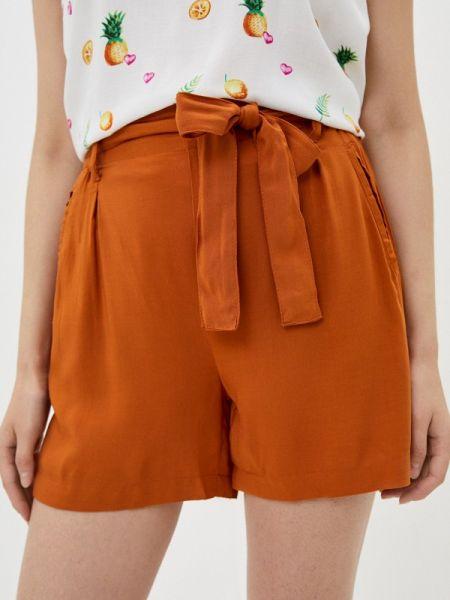 Оранжевые повседневные шорты Fresh Made