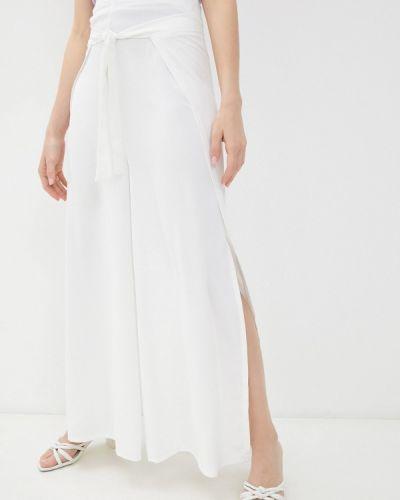 Белые повседневные брюки Moki