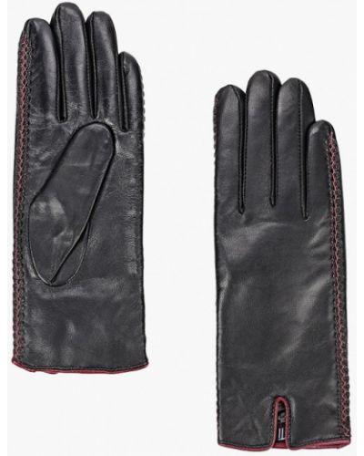 Кожаные красные кожаные перчатки Fabretti