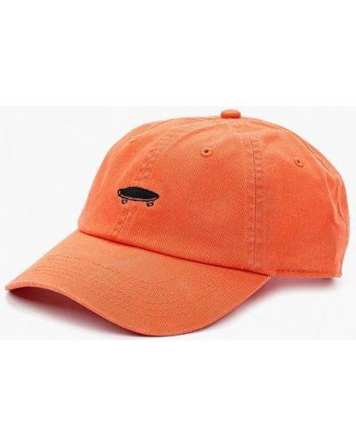 Оранжевая бейсболка Vans