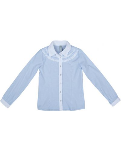 Блуза с оборками на пуговицах School By Playtoday