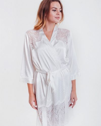 Домашний халат - белый Mia-amore