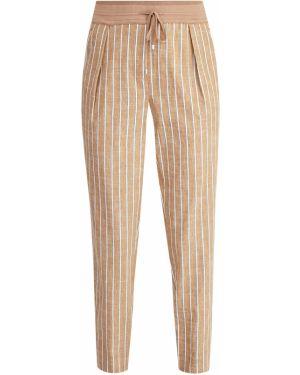 Спортивные брюки в полоску из вискозы Lorena Antoniazzi