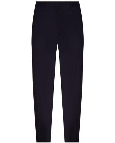 Зауженные брюки с карманами нейлоновые Prada