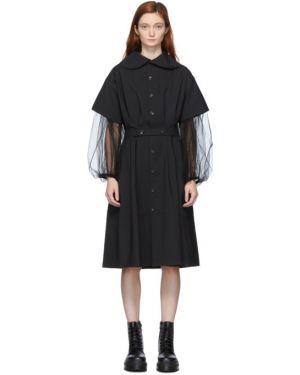 Платье макси на пуговицах оверсайз Tricot Comme  Des Garçons