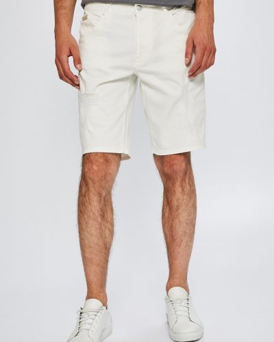 Белые шорты прямые Armani Exchange