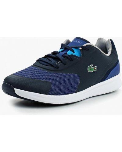 Синие кроссовки низкие Lacoste