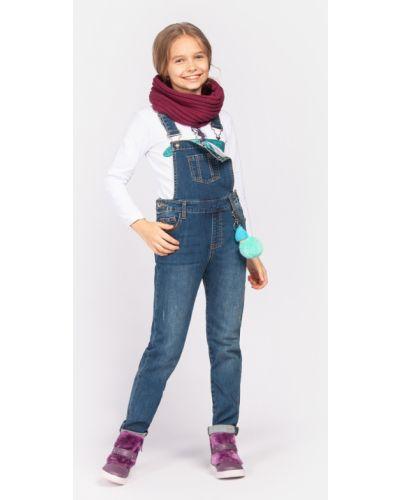 Комбинезон джинсовый синий Playtoday Tween