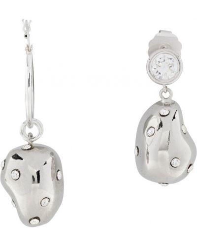Серебряные серьги-гвоздики Mounser