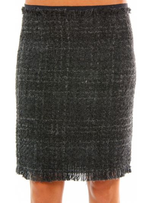Шерстяная юбка - серая Cerruti 18crr81