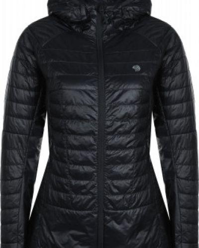 Утепленная серая куртка на молнии Mountain Hardwear