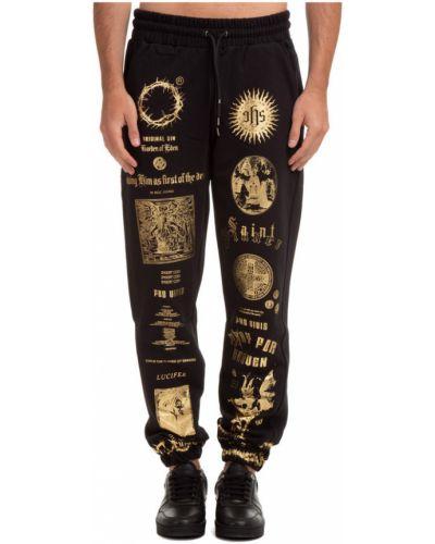 Czarne spodnie Ihs