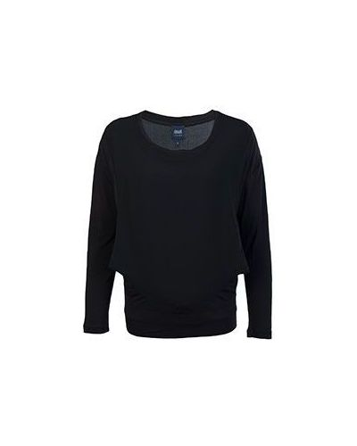Черный джемпер из вискозы Armani Jeans
