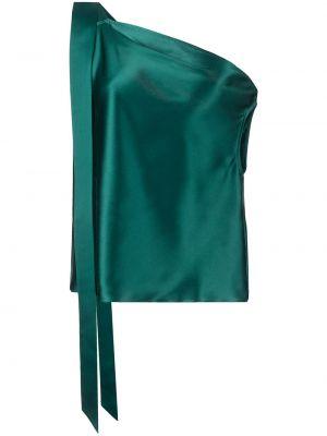 Топ с открытыми плечами - синий Michelle Mason