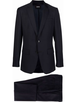 Шерстяной костюм - синий Boss Hugo Boss