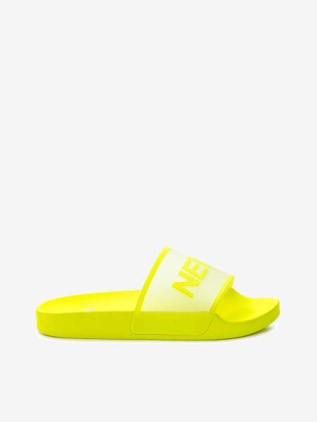 Желтые шлепанцы Keddo