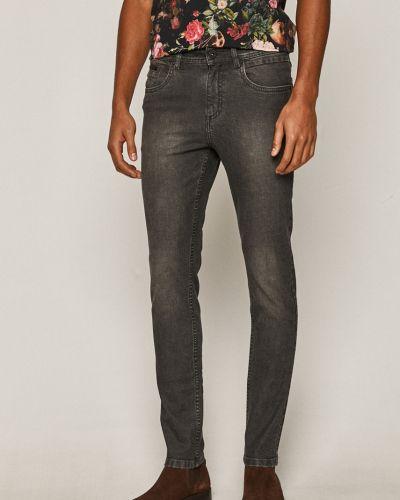 Хлопковые серые джинсы с карманами Medicine