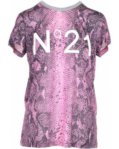 Różowa t-shirt N°21