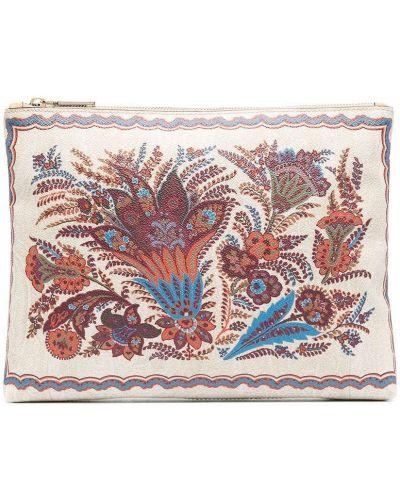 Kopertówka z haftem bawełniana Etro