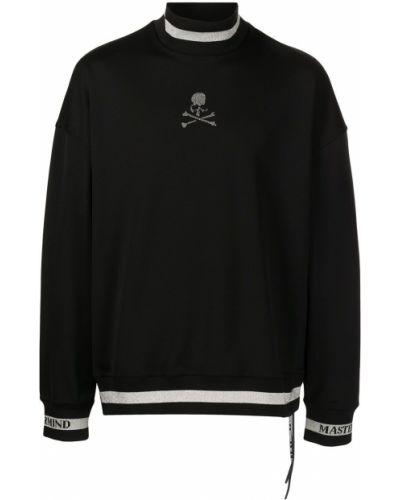 Czarna bluza z printem Mastermind World