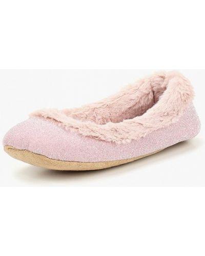 Розовые домашние тапочки Dorothy Perkins
