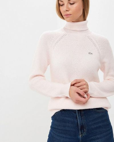 Розовый свитер турецкий Lacoste
