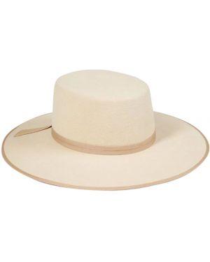 Beżowy kapelusz wełniany Lack Of Color