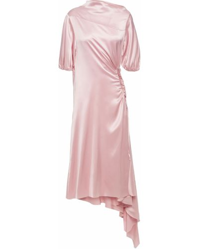 Sukienka midi - różowa Marques Almeida