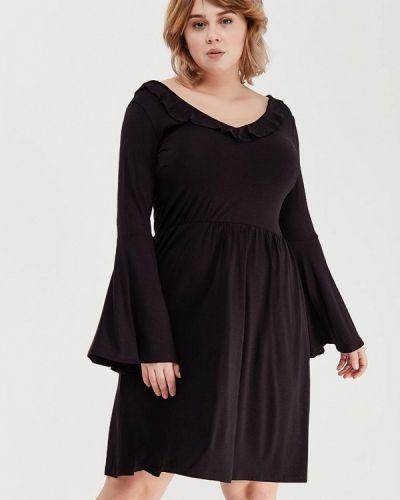Повседневное черное платье Lost Ink Plus