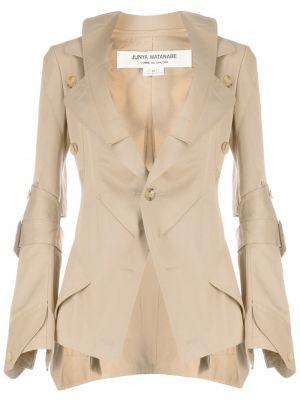 Прямой пиджак с карманами на пуговицах Junya Watanabe