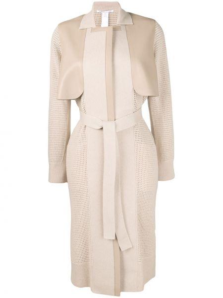 Кашемировое пальто классическое с капюшоном с воротником Agnona