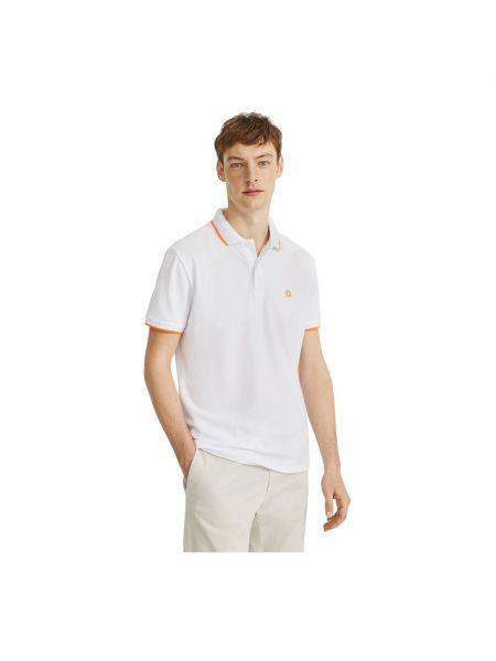 Biała koszulka Ecoalf