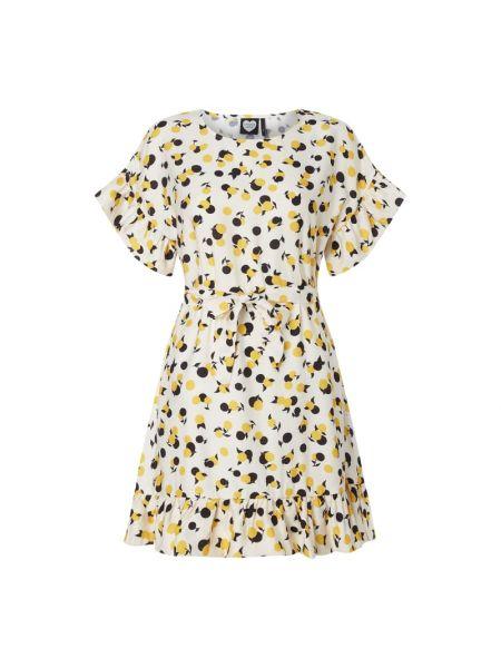 Sukienka mini rozkloszowana z falbanami z wiskozy Catwalk Junkie