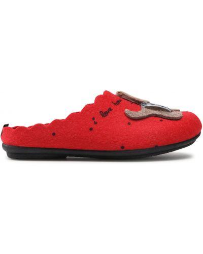 Тапочки - красные Manitu