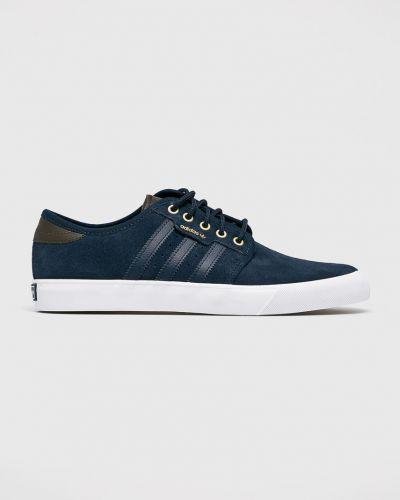Низкие кеды на шнуровке текстильные Adidas Originals